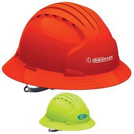 Promotional Evolution 6141 Full Brim Hi-Vis Hard Hat