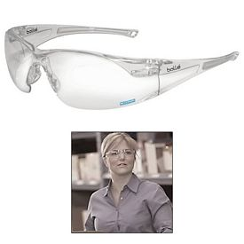Promotional Bolle Rush HD Clear Glasses