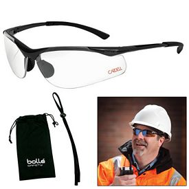 Promotional Bolle Contour Clear Glasses