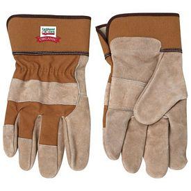 Promotional Tan Cow Split Safety Glove