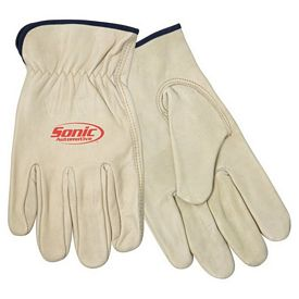 Promotional Cow Grain Driver's Gloves