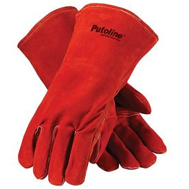 Promotional Red Welders Gloves
