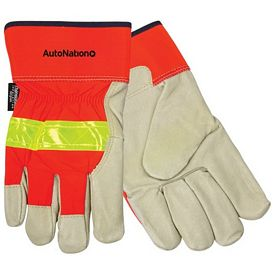 Promotional Insulated Top Grain Pigskin Leather Palm Glove