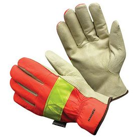 Promotional Vis Leather Drivers Glove