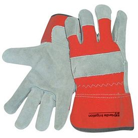 Promotional Red Insulated Cowhide Glove