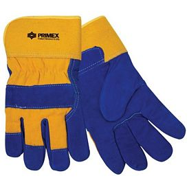 Promotional Insulated Yellow Cowhide Glove
