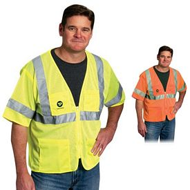 Promotional Value 4 Pocket Zipper Mesh Vest