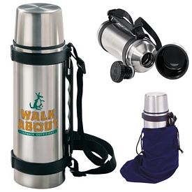 Promotional 700 ml. Stainless Steel Travel Thermos
