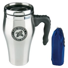 Promotional 16 oz Stainless Steel Esprit Travel Mug