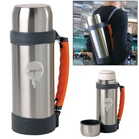 Promotional 50 oz Stainless Steel Vacuum Insulated Bottle
