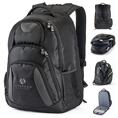 Custom Basecamp Concourse Laptop Backpack