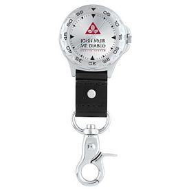 Promotional Golfer Clip-on Watch