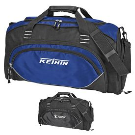 Promotional Preston Weekender Polyester Duffel Bag