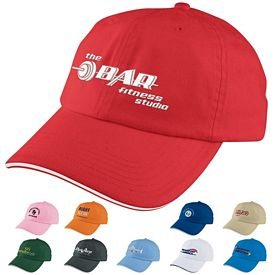 Promotional Unstructured Sport Sandwich Cap