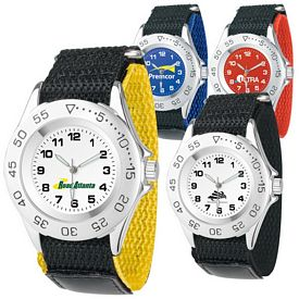 Promotional Women's All-Sport Canvas Band Watch