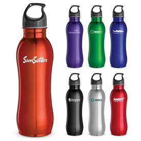 Customized 25 Oz Curvaceous Stainless Bottle
