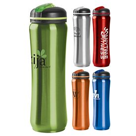 Promotional 28 Oz Slim Stainless Water Bottle