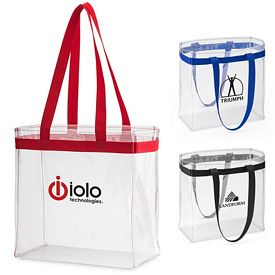 Promotional Scrimmage Stadium Clear Tote Bag