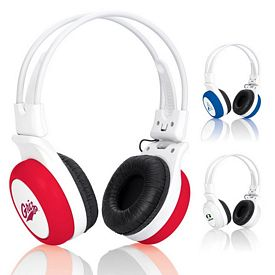 Promotional Silly Ears Silicone Stereo Headphones