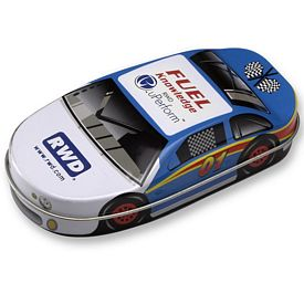 Promotional Race Car Jelly Belly Jelly Beans Tin