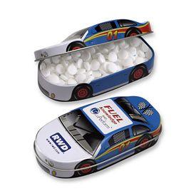 Promotional Race Car Micromints Tin