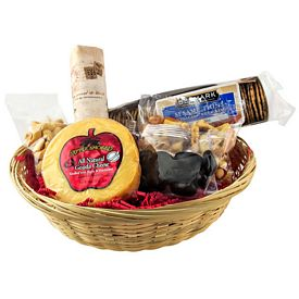 Promotional Cheese And Cracker Gift Basket