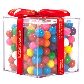 Promotional Acrylic Cube Gift Jar