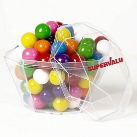 Promotional Diamond Acrylic Candy Container