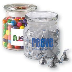 Promotional 22oz Glass Jar Filled