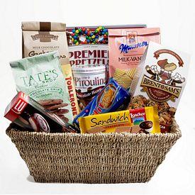 Promotional Gourmet Gift Basket