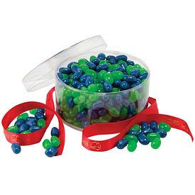Promotional Clearview Colorful Jelly Belly Gift Box
