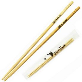 Promotional Pair of Bamboo Chopsticks