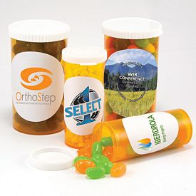 Promotional Large Promo Pill Bottle
