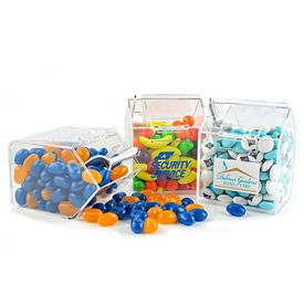 Promotional Clear Plastic Candy Bin