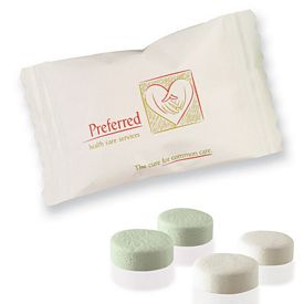 Promotional Individually Wrapped Soft Pastel Mints