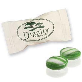 Promotional Individually Wrapped Spearmint Candy