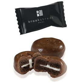 Promotional Individually Wrapped Mini Chocolate Sandwich Cookie
