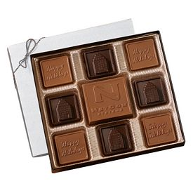 Promotional Custom Chocolate Squares Gift Box