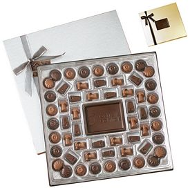 Promotional Custom Molded Chocolate Delights Gift Box