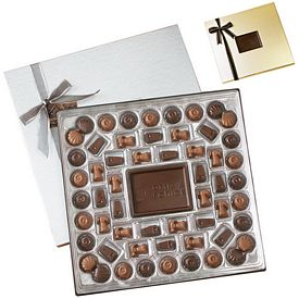 Promotional Large Custom Chocolate Delight Gift Box