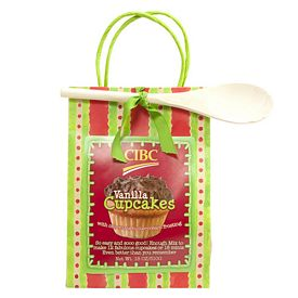 Promotional Vanilla Cupcake Mix