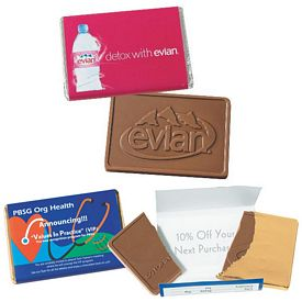 Promotional 1oz Chocolate Wrapper Bar