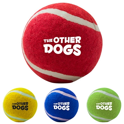 Customized Pet Chew Toy Tennis Ball