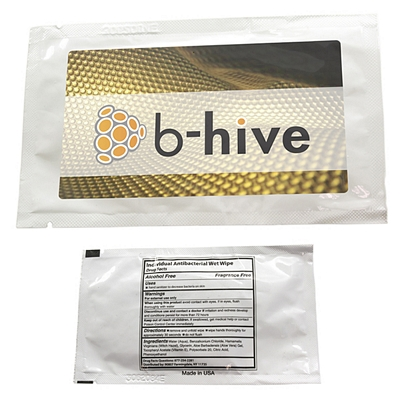 Promotional Clean Up Individual Antibacterial Wipes
