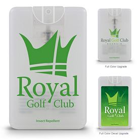 Promotional Credit Card Style Natural Insect Repellent