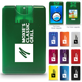 Promotional Credit Card Style Antibacterial Hand Sanitizer
