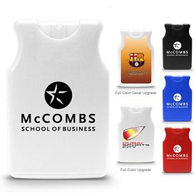 Promotional Jersey Shirt Credit Card Antibacterial Hand Sanitizer