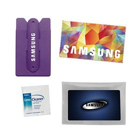 Promotional Essentials Media Smart Wallet Stand Kit