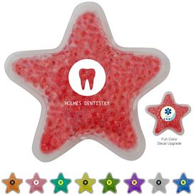 Promotional Star GelBead Hot Cold Pack