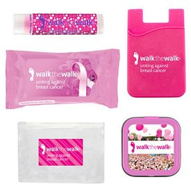 Promotional Awareness Phone Wallet Lip Balm Kit